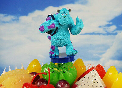 Disney Pixar Monster Inc University Sulley Figure DIORAMA Cake Topper K1102_V • 0.99£