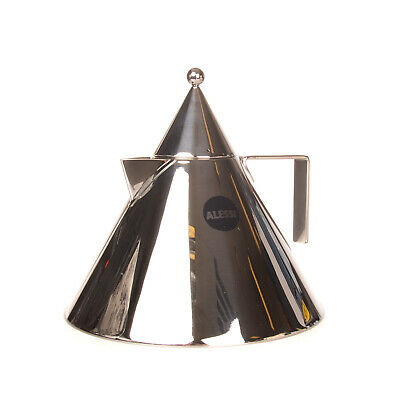RRP€180 ALESSI IL CONICO Stove Top Kettle Stainless Steel Designed By Aldo Rossi • 21.99£