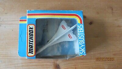 Matchbox Skybusters Concorde Heinz 57 Plane Aircraft • 5£
