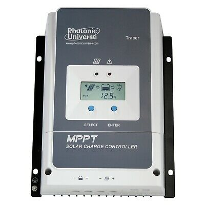 50A MPPT Solar Charge Controller With LCD Screen 12V 24V 36V 48V Upto 150V Solar • 199.99£