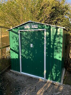 Apex Metal Shed 7ft X 4.2 • 92£