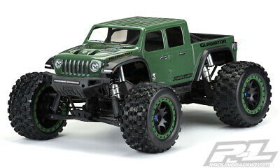AU133.76 • Buy Pro-Line 1/5 Traxxas X-Maxx Jeep Rubicon Unpainted Body Shell