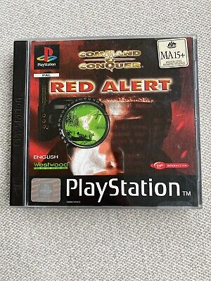 AU10 • Buy PlayStation 1 Game Command And Conquer Red Alert