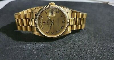 AU10350 • Buy Rolex 36mm 18kt Gold Day Date President Reference 18238