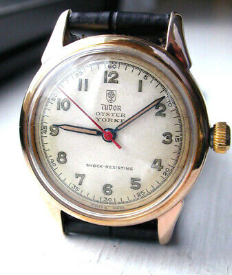 $ CDN1012.78 • Buy Small Rose TUDOR OYSTER YORKE ~ Vintage Gentlemens Watch By ROLEX -1940s ~ CLEAN