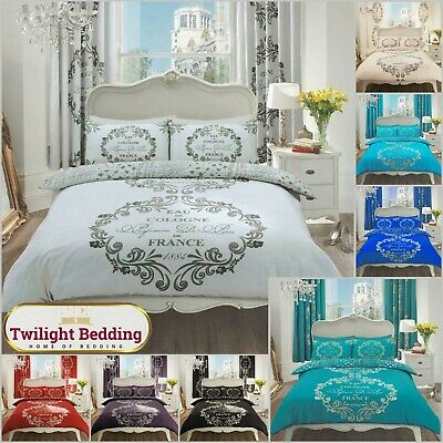 £16.99 • Buy MODERN DUVET COVER SET | Ultra Soft Double King Size Bed Bedding | Quilt Covers