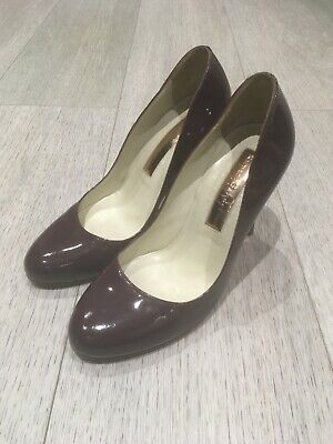 Rupert Sanderson - Patent Shoes Maroon / Burgundy. Size 35.5 Used - Gently Worn • 10£