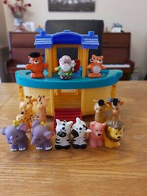 Fisher Price Little People Noah's Ark With Extra Animals • 6.99£