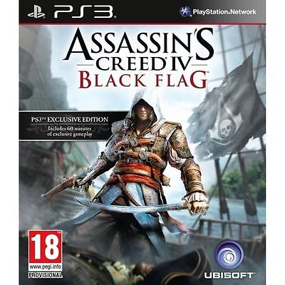 Assassin's Creed IV: Black Flag - PS3 - Pre Owned • 0.01£