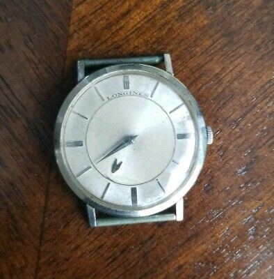 $ CDN119.09 • Buy Vintage Longines 14K Gold Filled White Gold Mystery Dial Watch No Strap