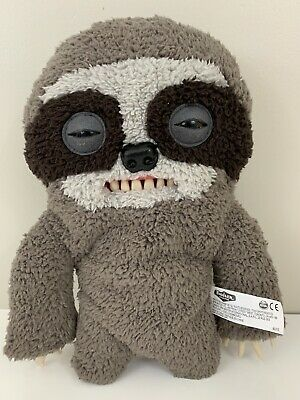 $ CDN15.91 • Buy Fuggler Funny Ugly Monster 12  Gray Sickening Sloth With Claws Collectible Plush