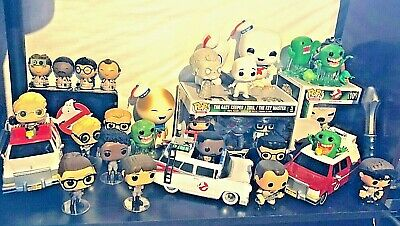 Lot Ghostbusters Funko Egon Ray Venkman Winston Ecto-1 Staypuft & More • 285.89£