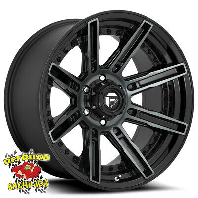 $1228 • Buy 20x10  BLACK FUEL D708 ROGUE WHEELS RIMS FORD F-250 F-350 SUPER DUTY LARIAT FX4