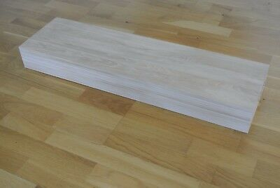 £185 • Buy Engineered Oak Stair Treads For Floating Staircase - Untreated