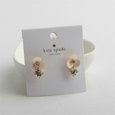 $ CDN22.55 • Buy Kate Spade New York Disco Pansy Drop Stud Earrings Gold Tone