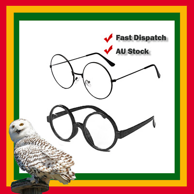 AU5.50 • Buy Harry Potter Where's Wally Round Glasses Costume Accessory Nerd