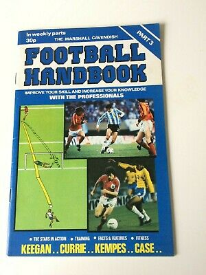 The Marshal Cavendish Football Handbook Part 3 • 3.50£