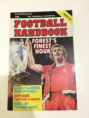 The Marshal Cavendish Football Handbook Part 50 • 3.50£