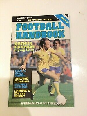 The Marshal Cavendish Football Handbook Part 39 • 3.50£