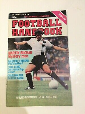 The Marshal Cavendish Football Handbook Part 46 • 3.50£