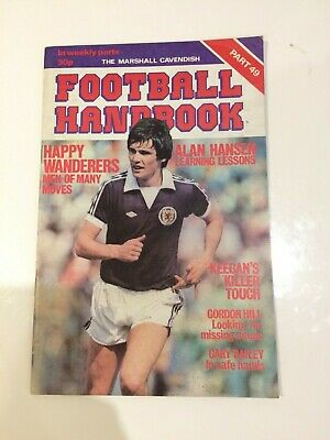 The Marshal Cavendish Football Handbook Part 49 • 3.50£