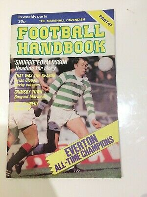 The Marshal Cavendish Football Handbook Part 47 • 3.50£