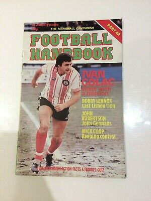 The Marshal Cavendish Football Handbook Part 42 • 3.50£