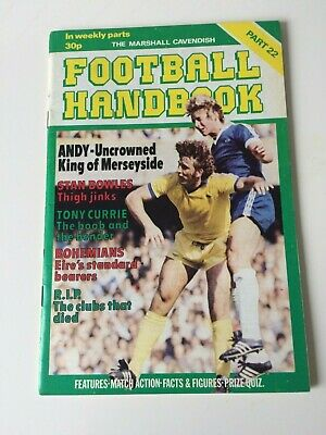 The Marshal Cavendish Football Handbook Part 22 • 3.50£