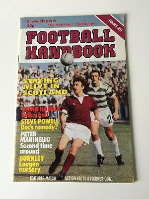 The Marshal Cavendish Football Handbook Part 28 • 3.50£