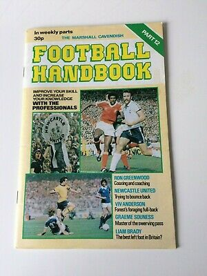The Marshal Cavendish Football Handbook Part 12 • 3.50£