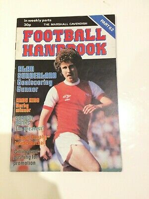 The Marshal Cavendish Football Handbook Part 62 • 3.50£