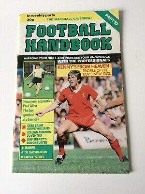 The Marshal Cavendish Football Handbook Part 10 • 3.50£