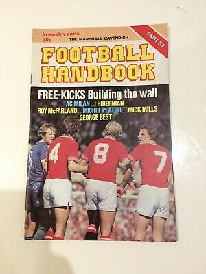 The Marshal Cavendish Football Handbook Part 57 • 3.50£