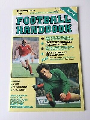 The Marshal Cavendish Football Handbook Part 6 • 3.50£