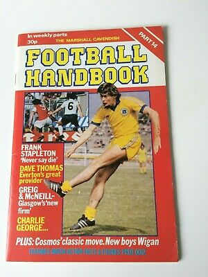 The Marshal Cavendish Football Handbook Part 14 • 3.50£