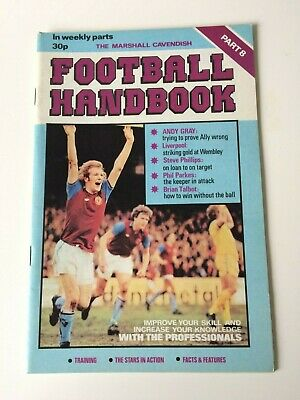 The Marshal Cavendish Football Handbook Part 8 • 3.50£