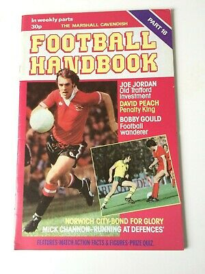 The Marshal Cavendish Football Handbook Part 18 • 3.50£