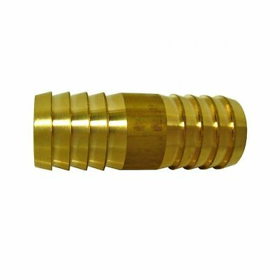 Straight Metal Brass Hose Joiner Barbed Connector Air Fuel Water Pipe Tubing • 2.73£
