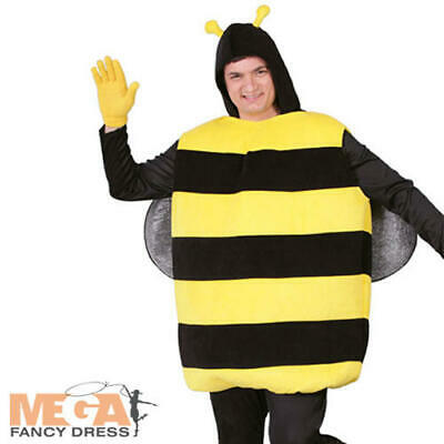 Bumblebee Adults Fancy Dress Animal Insect Nature Mens Ladies Book Day Costume • 14.99£