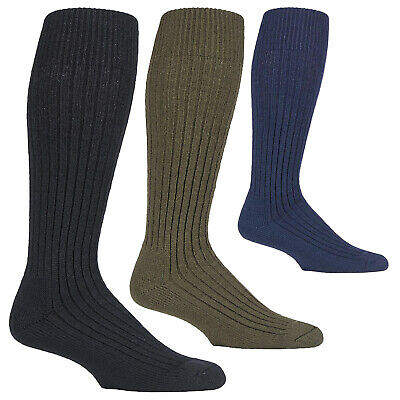 Mens Wool Blend Military Action Army Knee High Boot Socks For Cold Weather • 9.99£