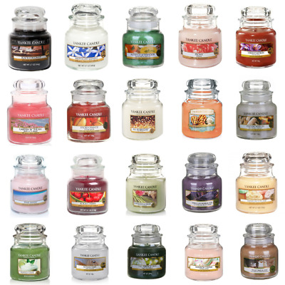 Yankee Candle Small Jars Variety Scents Assorted Fragrances Scented Candles Jar • 8.95£