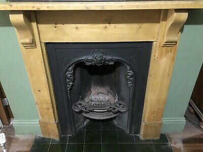 Victorian Style Fireplace And Pine Surround • 150£