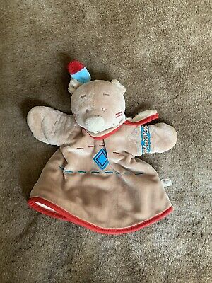 £11 • Buy Comforter Puppet Teddy Bear  Indian  Theme Brown NOUKIE'S