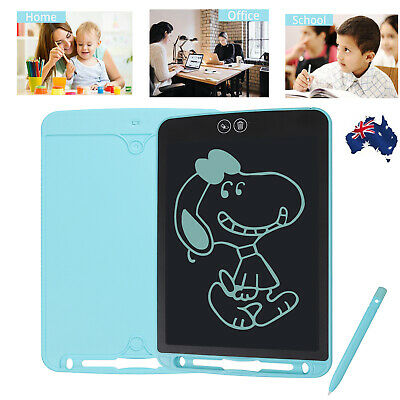 AU24.85 • Buy 10'' LCD Writing Drawing Tablet Board Electronic Writing Doodle Pad Kid Lockable
