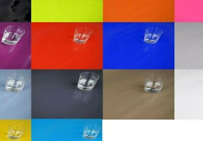 PLAIN COLOURS WIPE CLEAN TABLECLOTH COVER VINYL OILCLOTH WIPEABLE  140 X 100 Cm • 6.99£