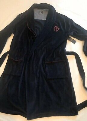 $66.45 • Buy New Ted Baker Blue Navy Dressing Gown Robe Small S