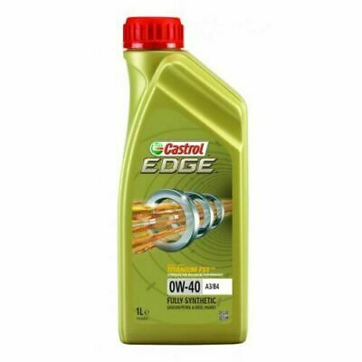 Castrol Edge 0W40 A3/B4 Fully Synthetic Engine Oil 1 Litre 1L • 11.45£