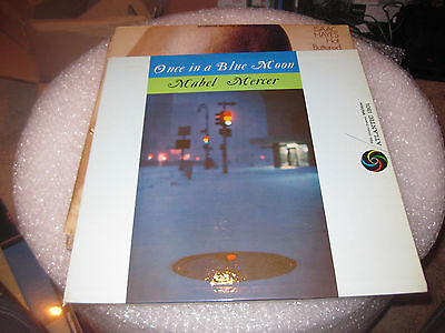 $9.99 • Buy Mabel Mercer; Once In A Blue Moon On  LP