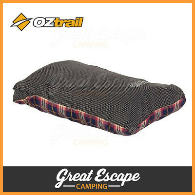 AU24.90 • Buy OZtrail Travel Pillow Cushion Car Flight Camping Hiking Plane