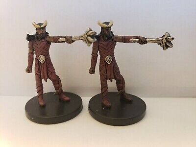 $ CDN0.99 • Buy Authentic Dungeons & Dragons (D&D) Miniature: Tiefling Warlock #PROMO X2